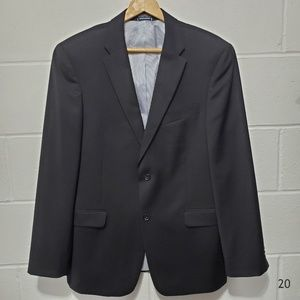 Tommy Hilfiger Black Wool Blazer Size 40R